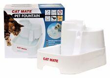 PetMate Cat Mate Trinkbrunnen 2 Liter für Katzen + kleine Hunde, NEU + OVP