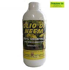 de aceite de neem 1 lt orgánico 100% natural soluble en el agua