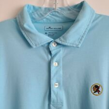 Seminole Golf Club Peter Millar Men's Blue Polo Shirt XL