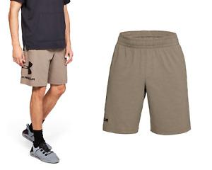 Under Armour Men's UA Cotton Graphic Sportstyle Shorts - Size L - NEW