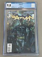 Batman #1 * Ethan Van Sciver Variant Cover * CGC 9.8 * White Pages * DC New 52
