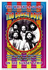 The Beach Boys at  Whisky A Go Go Concert  Poster 1972