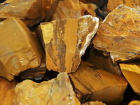 1000 Carat Lots of Yellow Jasper Rough - Plus a FREE Faceted Gemstone