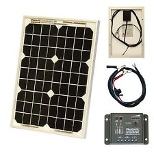 10W 12V solar panel battery charger for motorhome, caravan, camper, boat, car