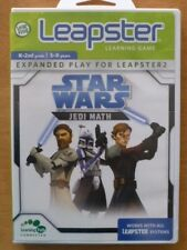 LeapFrog Leapster STAR WARS Jedi Math Leapster2 Educational Learning Game K-2