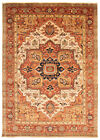 Hand-knotted Rug (Carpet) 9'10X13'7, Serapi mint condition