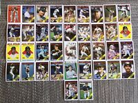 1988 NEW YORK YANKEES Topps COMPLETE Baseball Team SET 38 Cards MATTINGLYx3 !