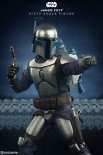 Star Wars Sideshow Jango Fett 1/6 Scale Figure Boba Fett Vader Bounty Hunter