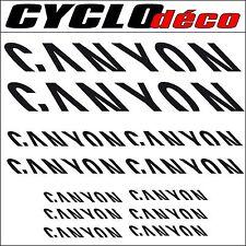 Stickers CANYON pour cadre 40 couleurs au choix