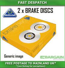 FRONT BRAKE DISCS FOR LANCIA NBD534