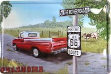 US SELLER, classic tin signs Country car USA Route 66 metal tin sign