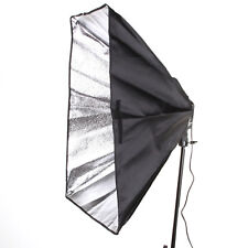 "Digital Photo Video Shooting 20x28"" Folding SoftBox 4 Socket E27 Bulb Light Head"