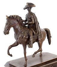 Reiterstandbild - Friedrich der Große zu Pferd - Der Alte Fritz - signiert Nick
