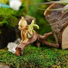 Miniature Fairy Garden Pixie w/ Baby Dragon on Branch - Buy 3 Save $5