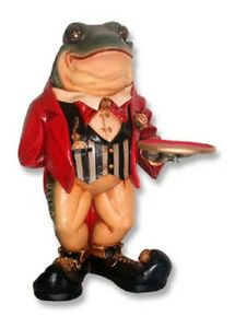 Frog Butler 2ft Tall  Animal Figurine