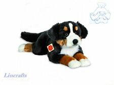 Lying Bernese Mountain Dog  Plush Soft Toy Dog by Teddy hermann Collection 92781