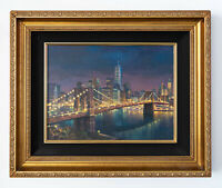 Freedom Tower Original Signed Framed Oil on Canvas Painting | Free Shipping
