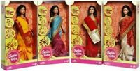 1 x Barbie in India (Design &Color may Vary) Traditional Indian Barbie in Saree