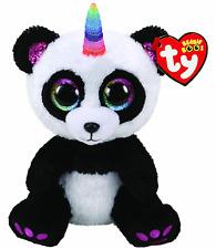 Ty Beanie Boos Paris Panda with Horn