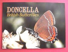 "DONCELLA...UNUSED EMPTY ALBUM..."" BRITISH BUTTERFLIES ""...1984..."