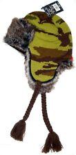 Men's EXTREME BRAND Fur Thermal Cap Winter TRAPPER HAT Military Camo Design