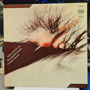 """LP Anton Bruckner - Sinfonie Nr.4 """"Romantische"""" - ETERNA  DMM  7 29 216"""