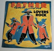 SP 45 Tours -  FATHER and SONS - Lovers Rock -1982 Barclay 100.273