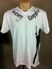 NEW Official Pauly D Jersey Shore T-Shirt shirt Size M Jersey Empire White Guido