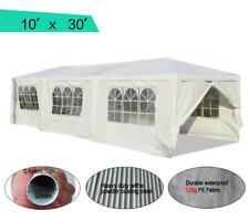 Peaktop® 10 x 30 Heavy Duty Outdoor Gazebo Wedding Party Tent Canopy Pavilion W