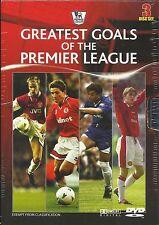 GREATEST GOALS OF THE PREMIER LEAGUE (3 DVD SET NEW Region 4)