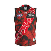 Essendon Bombers 2019 Indigenous Guernsey Kids Size 6 AFL ISC - Brand New