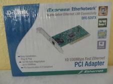 D Link Express EtherNetwork 10/100 Mbps Adaptateur PCI. DFE-528TX. scellé dans la boîte.