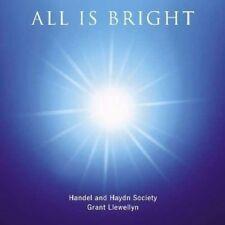 GRANT/HANDEL AND HAYDN SOCIETY LLEWELLYN - ALL IS BRIGHT  CD NEW+ SWEELINCK