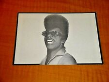 ESQUERITA LITTLE RICHARD ROCK AND ROLL BLACK MEMORABILIA POSTCARD