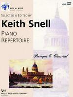 Keith Snell Piano Repertoire: Baroque & Classical - Level 8 GP608