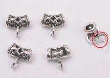wholesale 20pcs Tibetan silver charm Split ring Connectors Bail 11mm A3057