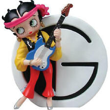 Betty Boop Letter G Guitarist Betty Resin Figurine by Westland Giftware 726747
