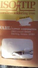 WAHL ISO-TIP 7573 CORDLESS RECHARGEABLE SOLDERING IRON TIPS