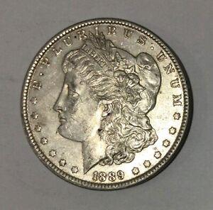 1889  U.S.A.,AMERICAN Morgan Silver Dollar. Very nice collectible condition.