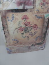 Candamar Counted Cross Stitch LACE MAGNOLIA Pillow/Picture Kit