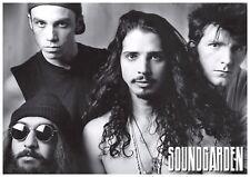 "Soundgarden Band Portrait 24"" x 36"" Chris Cornell Grunge 90s Large Music Poster"