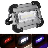 30W USB COB LED Arbeitsleuchte Wiederaufladbar Flutlicht Zeltlampe Campinglampe
