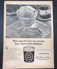 Life Magazine Ad Lady Borden Ice Cream 1946 Ad