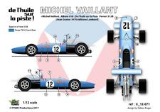 [FFSMC Productions]1/12 Decals Ferrari Michel Vaillant - De l'Huile sur la Piste