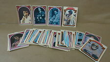 1978 Donruss elvis presley trading cards boxcar enterprises 61 cards