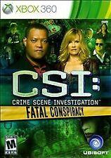 Xbox 360 : CSI: Fatal Conspiracy VideoGames
