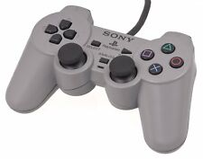 PS1 Playstation 1-Ufficiale Sony Pad Controller SHOCK Dual testato + lavoro