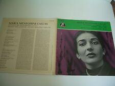 MARIA MENEGHINI CALLAS LP COLUMBIA GERMANY WSX 607.  RARE!