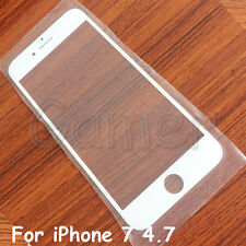 White Replacement Front Outer Screen Glass Lens Cover For Apple iPhone 7
