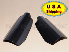 USA Black Customs Hand Guards Guard for Harley Baggers FXR's Sportsters 2007-UP